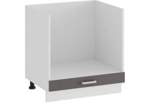 Шкаф напольный под бытовую технику «Долорес» (Белый/Муссон)