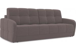 Диван «Аспен Slim» Neo 12 (рогожка) коричневый