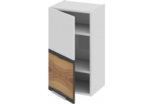 Шкаф навесной (левый) Фэнтези (Вуд) 400x323x720