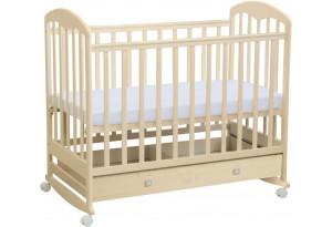 Кроватка детская Polini kids Simple 325 с ящиком