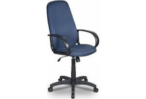 Кресло компьютерное Бюрократ Ch-808AXSN черно-синее