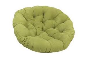 Подушка для кресла Папасан зеленая