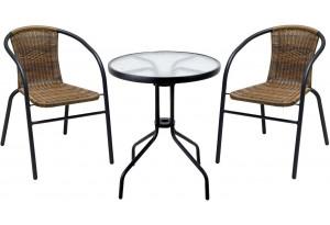 Комплект садовый BISTRO с круглым столом