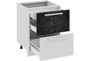 Шкаф напольный с 2-мя ящиками и 1-м внутренним Фэнтези (Лайнс)