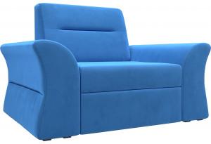 Кресло Клайд Голубой (Велюр)
