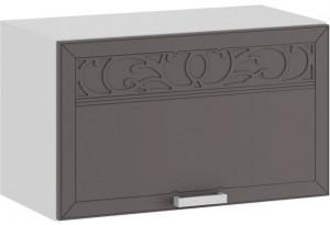 Шкаф навесной c одной откидной дверью «Долорес» (Белый/Муссон)