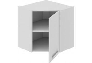 Шкаф навесной угловой с углом 45° Фэнтези (Белый универс)