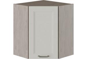 Шкаф навесной угловой с углом 45° ОДРИ (Бежевый шелк)