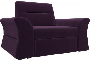 Кресло Клайд Фиолетовый (Велюр)