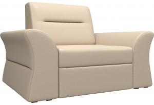 Кресло Клайд Бежевый (Экокожа)