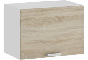 Шкаф навесной c одной откидной дверью «Гранита» (Белый/Дуб сонома)