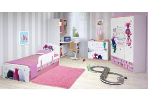 Модульная детская Polini kids Fun Тролли, комплектация №2