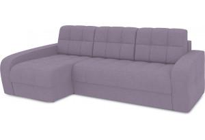 Диван угловой левый «Аспен Т2» (Neo 09 (рогожка) фиолетовый)