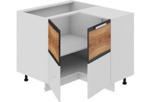 Шкаф напольный нестандартный угловой с углом 90° Фэнтези (Вуд)