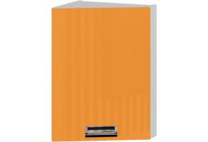 Шкаф навесной торцевой (правый) БЬЮТИ (Оранж)