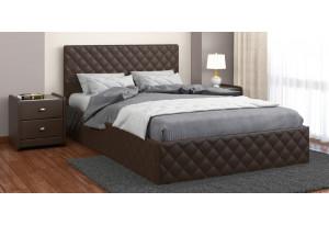 Кровать двойная Рондо экокожа