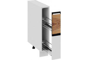 Шкаф напольный с выдвижной корзиной Фэнтези (Вуд)