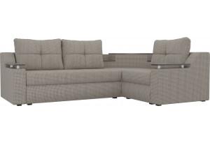 Угловой диван Тесей корфу 02 (Рогожка)