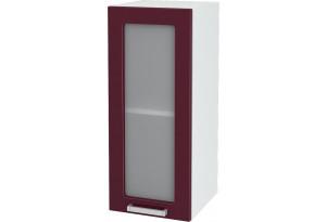 Ксения Навесной шкаф 300 мм, с дверцей и стеклом