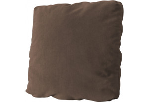 Подушка малая П1 Galaxy 04 (велюр) темно-коричневый