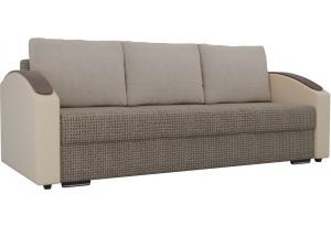 Прямой диван Монако slide Коричневый/Бежевый (Корфу)