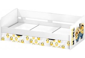 Кровать детская выдвижная Polini kids Fun 4200 Миньоны