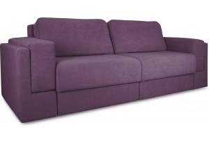 Диван «Порто» Kolibri Violet (велюр) фиолетовый