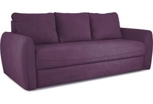 Диван «Отто» Kolibri Violet (велюр) фиолетовый