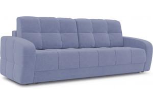 Диван «Аспен» (Poseidon Blue Graphite (иск.замша) серо-фиолетовый)
