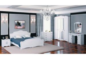 Модульная спальня Лотос белый