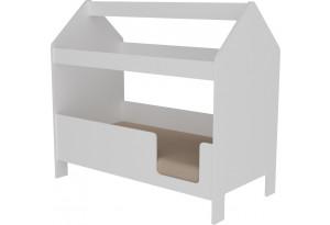 Кровать детская Домик ЛДСП Базовая