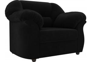 Кресло Карнелла Черный (Велюр)