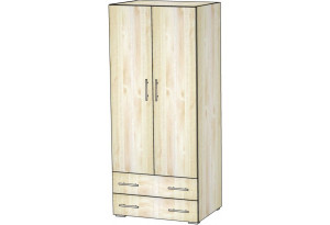 Шкаф для одежды двухдверный с ящиками 5.28