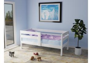 Кровать детская «Бонни» из массива сосны Белый