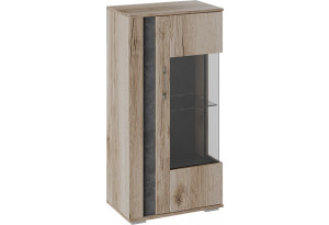 Шкаф навесной «Брайтон» Камень/Дуб Делано