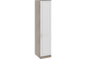 Шкаф для белья с 1-ой дверью правый «Прованс» Дуб Сонома трюфель/Крем