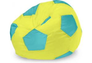 Кресло-мешок «Бонн» Рогожка NEO, зеленый/голубой