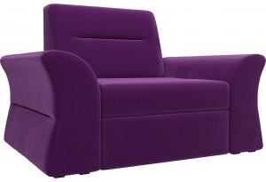 Кресло Клайд Фиолетовый (Микровельвет)