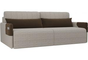 Прямой диван Армада Корфу 02/коричневый (Корфу)