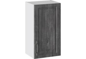 Шкаф навесной (ПРОВАНС (Белый глянец/Санторини темный))
