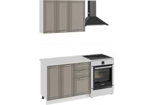 Кухонный гарнитур «Ольга» стандартный набор (Белый/Кремовый)