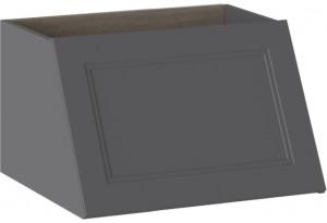 Элемент под встроенную вытяжку ОДРИ (Серый шелк)