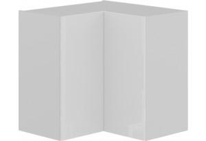 Шкаф навесной угловой с углом 90 (БЬЮТИ (Белая))