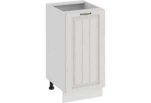 Шкаф напольный с одной дверью «Лина» (Белый/Белый)