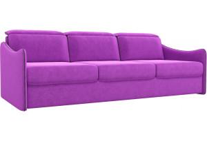 Диван прямой Скарлетт Фиолетовый (Микровельвет)
