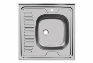 Мойка Юкинокс Стандарт STD600.600 - 5С ОR накладная правая