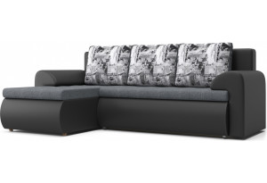Угловой диван Цезарь серый