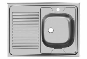 Мойка Юкинокс Стандарт STD800.600 - 5С ОR накладная правая