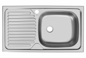 Мойка Юкинокс Классика CLM760.435 - 5K 1R врезная правая