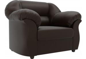 Кресло Карнелла Коричневый (Экокожа)